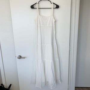 Anthropologie Maeve Cotton/Silk Boho Maxi Dress